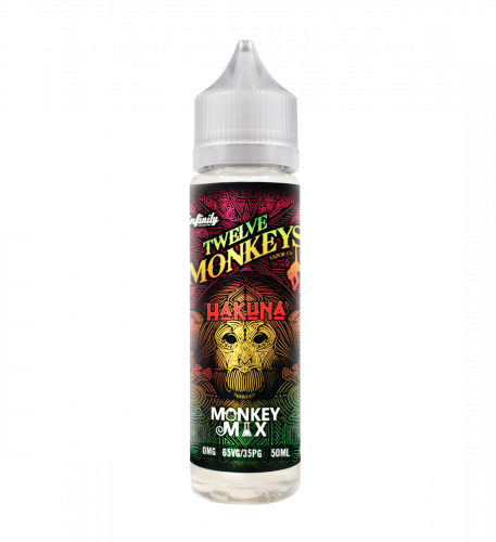 Hakuna E-Liquid by Twelve Monkeys Vapor 50ml Review